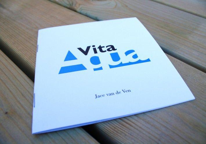 Vita Aqua (collection of poems) Design by Studio Phunc