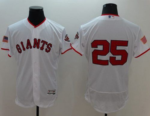 4135a512 ... Giants 25 Barry Bonds White Fashion Stars Stripes Flexbase Authentic  Stitched MLB jerseys Giants 24 Willie Mays ...