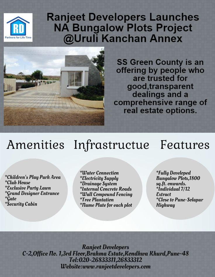 #Ranjeet Developers Launches Collector Sanctioned NA Bungalow Plots Project @Uruli Kanchan Annex