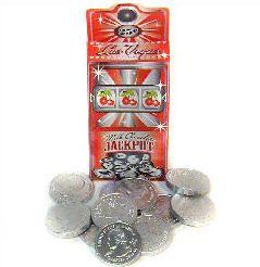 Chocolate Quarter Slot Box