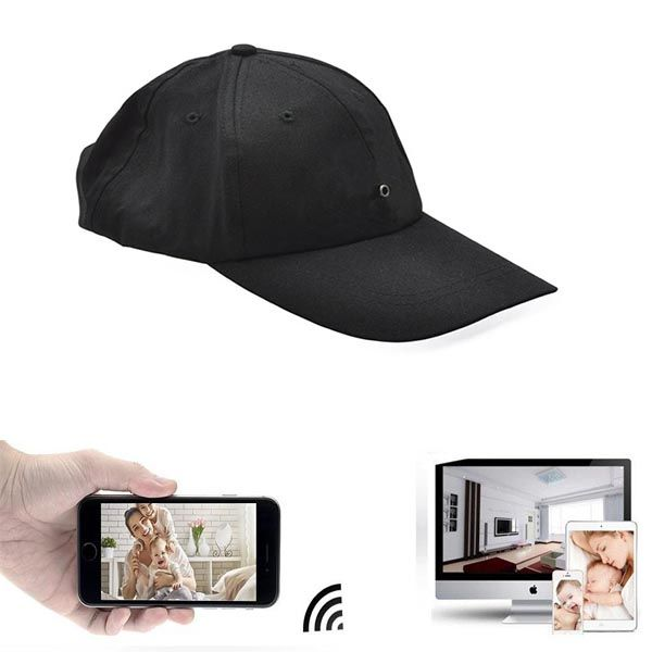 Live Streaming Hat Cam HD1080P Wireless Cap Hidden Spy cam Wifi Camera H4 Hidden Cap Cam Photo video hiden shooting