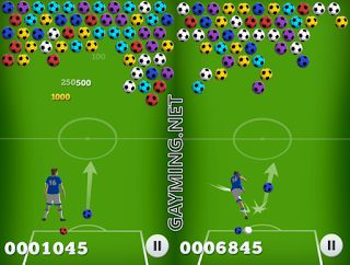 Soccer Bubbles - football and puzzle game in one