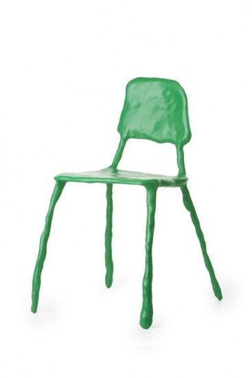 Maarten Baas . clay dining chair, 2006