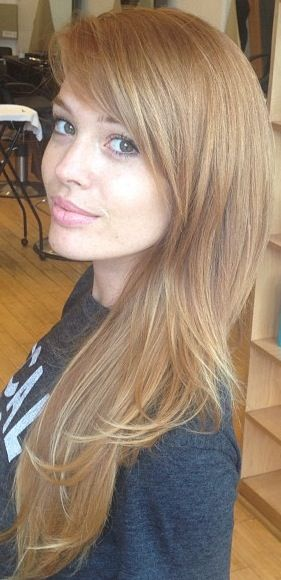 Lauren Anderson // perfect hair color and cut