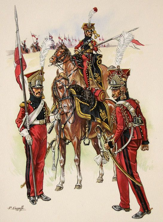 2nd regiment of Lighthorse-Lancers of the French Imperial Guard
