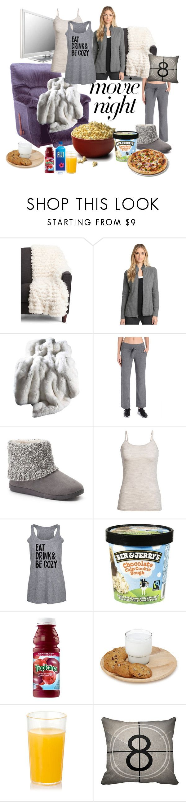 """movie night"" by caroline-buster-brown ❤ liked on Polyvore featuring Danskin, SONOMA Goods for Life, Icebreaker and movieNight"