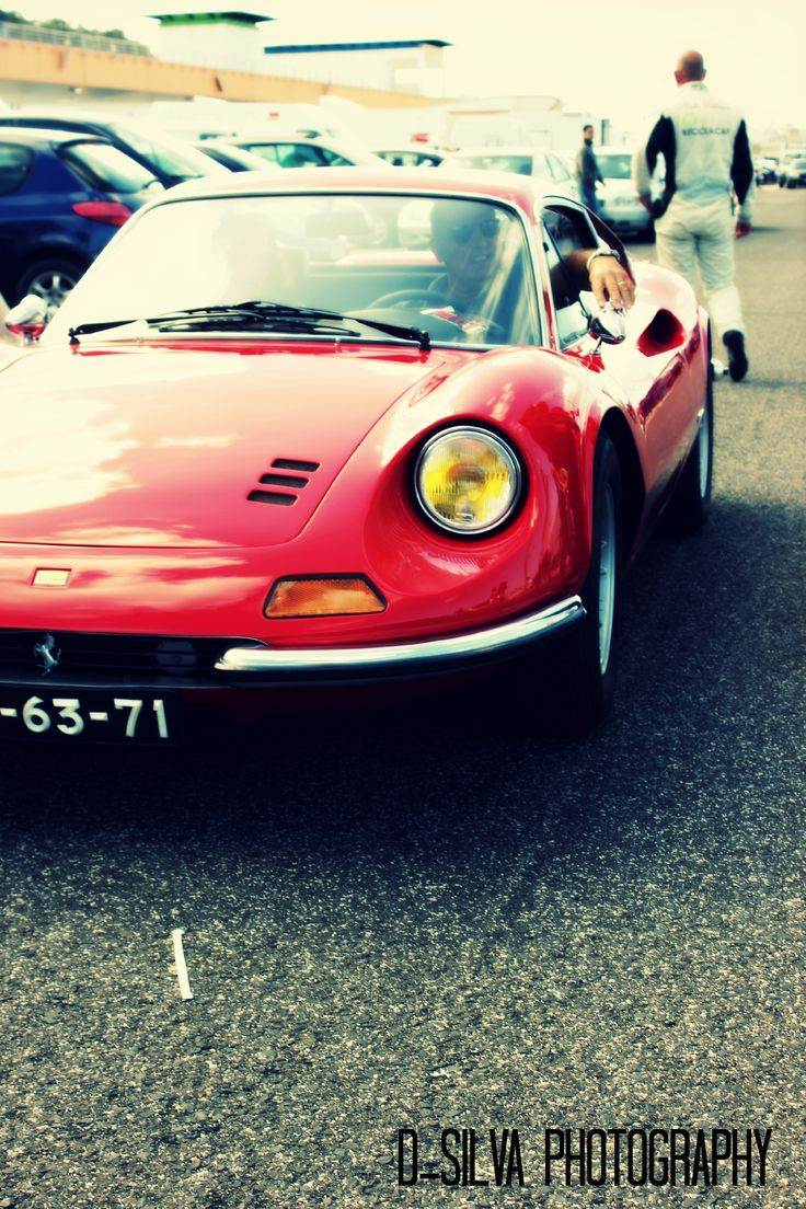 Red Ferrari Dino, Estoril, 2014 Diogo Silva