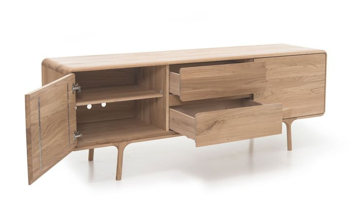 Heal's: gorgeous high quality natural materials meet modern craftsmanship in this beautiful oak sideboard, part of the Fawn Collection.