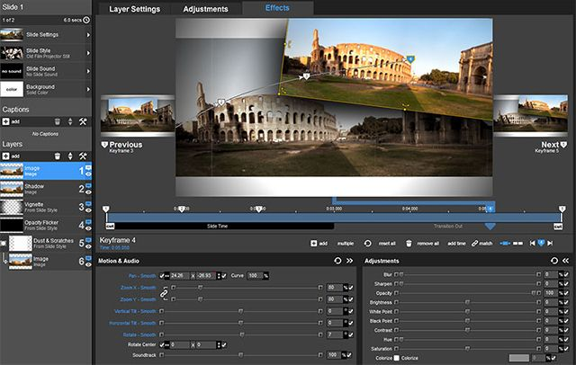 Learn the basics of keyframing in ProShow Producer