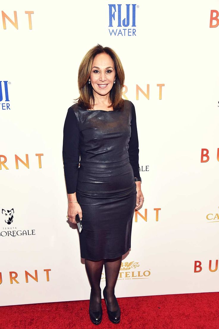 American news anchor Rosanna Scotto kept it simple, yet, classy as she was photographed at A Celebration for Patricia Clarkson in New York City…