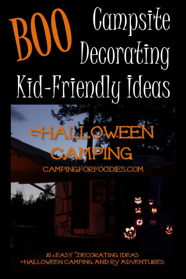 10 Easy Decorating Ideas For Halloween Camping And RV Adventures - funny halloween decorating ideas