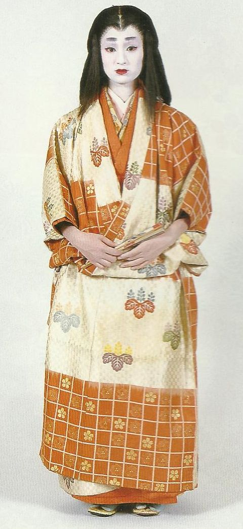 """Scan J2: Scan from book """"The History of Women's Costume in Japan."""" Scanned by Lumikettu of Flickr. Exacting recreation of Japanese costume many centuries ago…"""