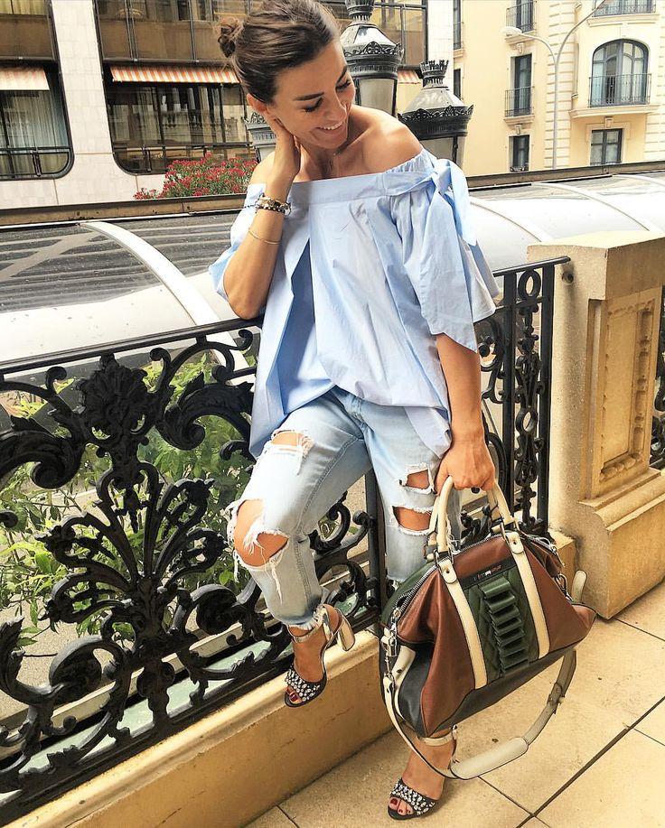 RAMONA FILIP sur Instagram: Ready, packed, lets go!!! And my fav @m_a__f__f bag comes with me of course  #RamonFilipDesign #ramonfilipblouse