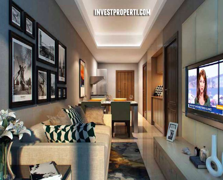Interior Design Apartemen Saffron Noble Sentul City