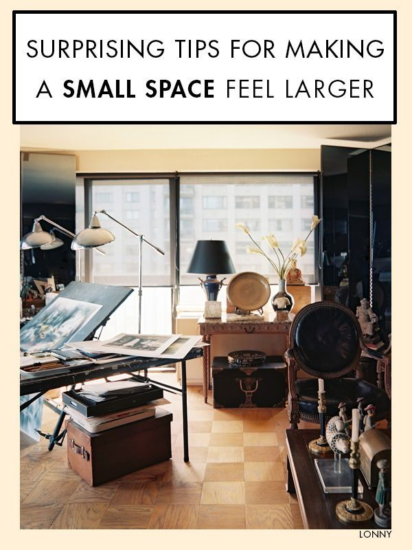 Small Space Dwellers Take Heart Its Not The Size Of A Room That