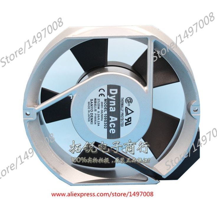 88.66$  Buy now - http://ali00d.shopchina.info/1/go.php?t=32803377716 - Free Shipping For Sanyo 109S302 AC 200V 27W/25W, 2-pin 170x150x51mm AC Fans Server Round fan  88.66$ #magazineonline