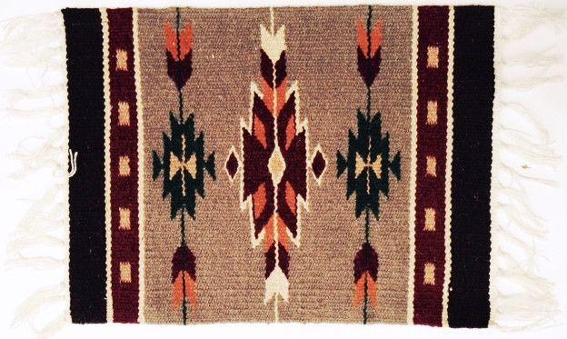 (EPHIM1520-15) Woolen Southwestern Placemat