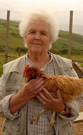 Auntie Joan (Stephanie Cole).  I wish she would have continued, but decided to leave the show so they had to script a heart attack.
