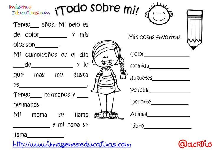 Actividades para los primeros días de clase (6) - Imagenes Educativas