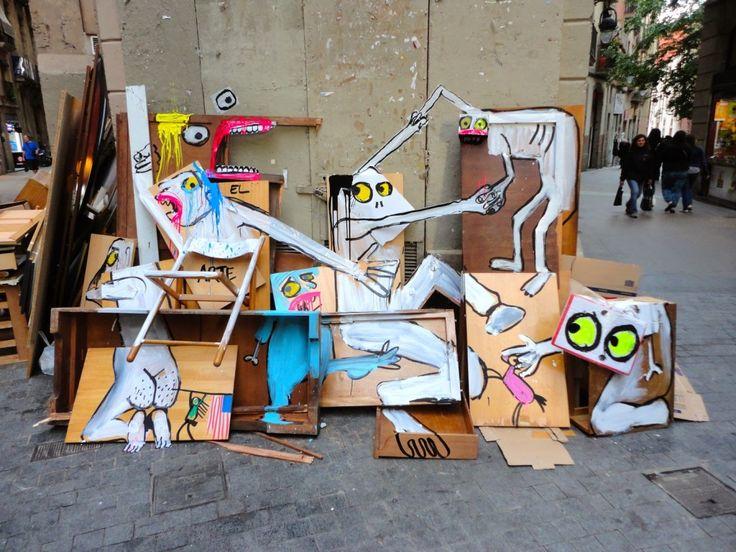 Art is trash. La propuesta de Francisco de Pájaro: la basura hecha arte. ¡En nuestro blog!