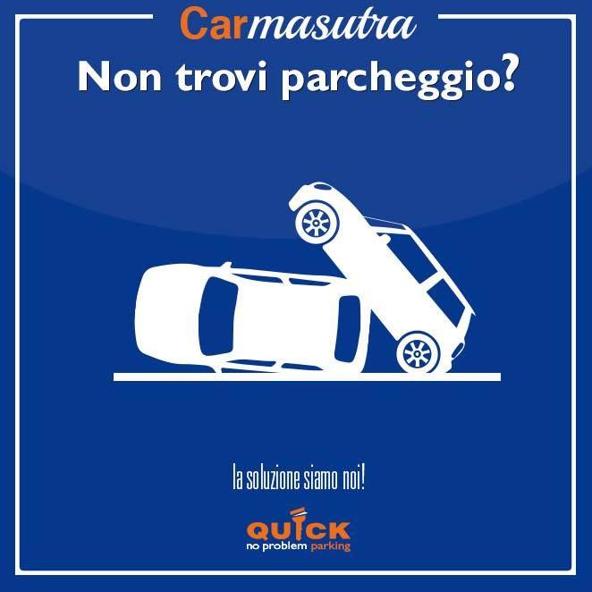 Car-masutra, campagna virale per i parcheggi Quick