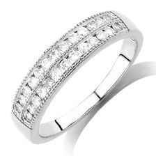 0.33 Carat TW Diamond Wedding Band