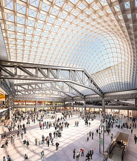 SOM reveals images of proposed Penn Station expansion