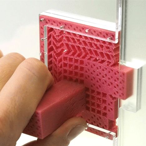 Metamaterials make it possible to create mechanisms from a single piece of plastic