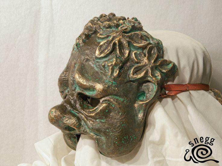Hier sehen Sie die Maske – BACCHUS I Alle Masken wurden handgefertigt. masken kaufen karneval maske karnevalsmaske