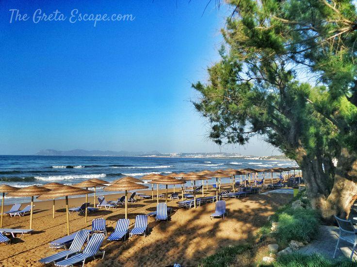 Hagia Marina beach, Crete