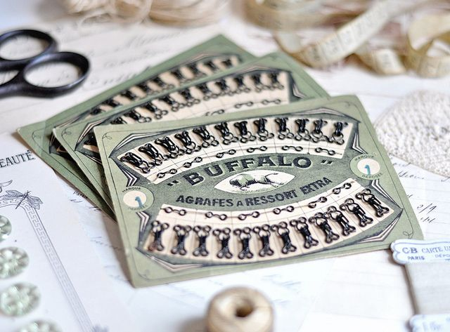 Antique French Sewing Cards | Flickr - Photo Sharing!