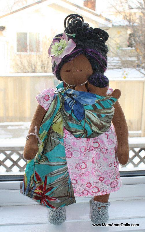 Birthing and Breastfeeding Doll MILKA | MamAmorDolls.com