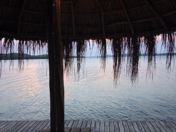 Lake sunset, sundowners Nimbavale