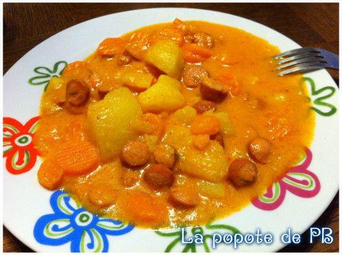 Ragoût de pommes de terre carottes au Thermomix - Popote de petit_bohnium