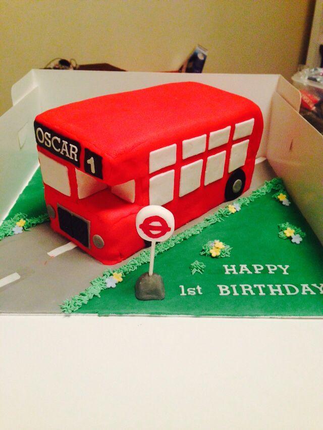 Bus Birthday Cake Images