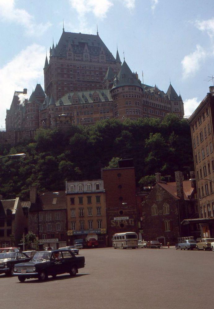 Best 1327 photos anciennes de la ville qu bec et de la for Chambre chateau frontenac