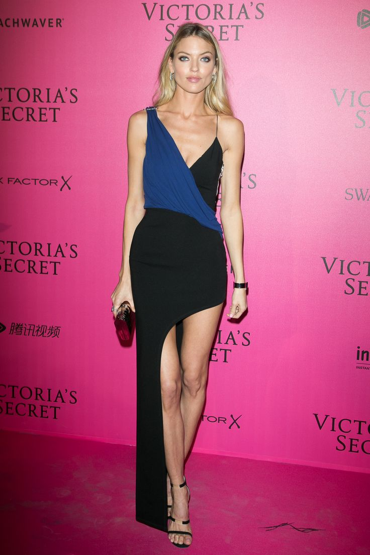 Supermodel Marta Hunt stuns in #VersusVersace at the after party for the Victoria's Secret Fashion Show.