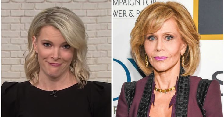 Megyn Kelly Tears Into Jane Fonda About Plastic Surgery, 'Hanoi Jane'  https://www.huffingtonpost.com/entry/megyn-kelly-jane-fonda-plastic-surgery_us_5a66018de4b0dc592a0ae56c