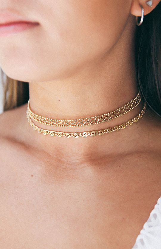 Minc Joy Choker Set - Gold from peppermayo.com