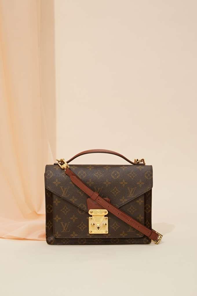 Vintage Louis Vuitton Monogram Monceau Leather Bag | Shop Product at Nasty Gal!