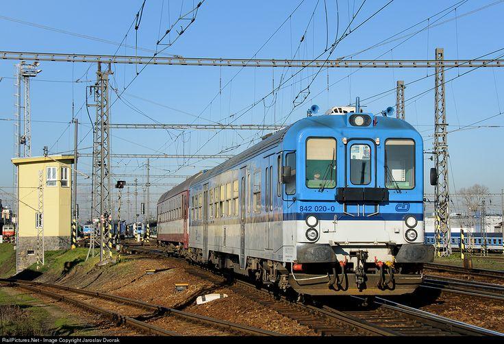 RailPictures.Net Photo: CD 842 020 0 Ceske Drahy CD 842 at Ceske Budejovice, Czech Republic by Jaroslav Dvorak