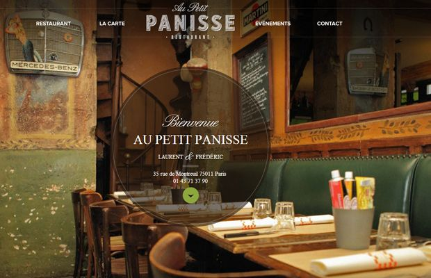 Au Petit Panisse By @Team Mango Media Private Limited Via http://www.themangomedia.com/blog/what-is-fullscreen-background-websites-and-its-example-of-fullscreen-website-designs/