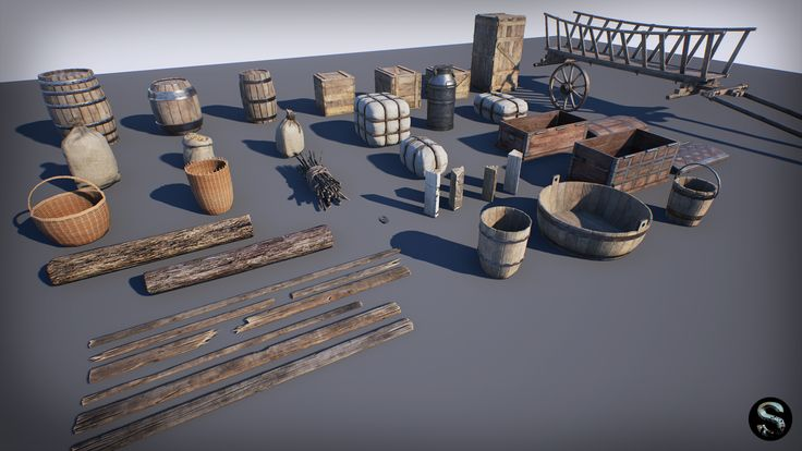 Medieval Props Pack by SilverTm in props - UE4 Marketplace