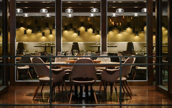 Private dining rooms @ West