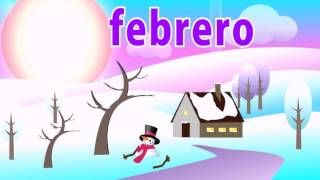 Learn the Months of the Year in Spanish Song, via YouTube.