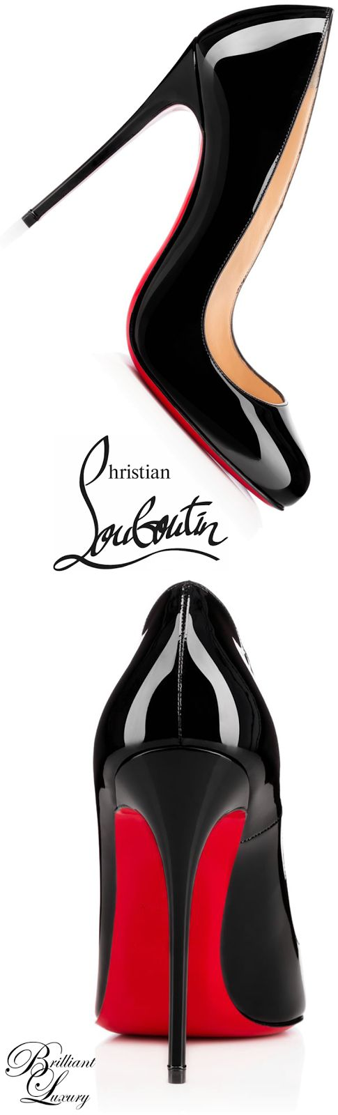Brilliant Luxury * Christian Louboutin 'Dorissima' 2015