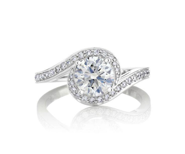 愛のハーモニーからインスピレーションを得て誕生したデザイン *エンゲージリング 婚約指輪・デビアス*