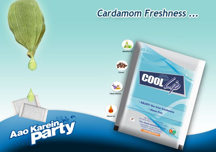 Enjoy Cardamom Freshness of #coollip... with Lasting Satisfaction...  #coollipmouthfreshner