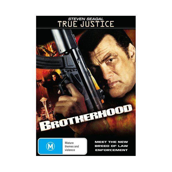 True Justice Brotherhood Dvd Region 4 Steven Seagal Best Movie Posters Steven