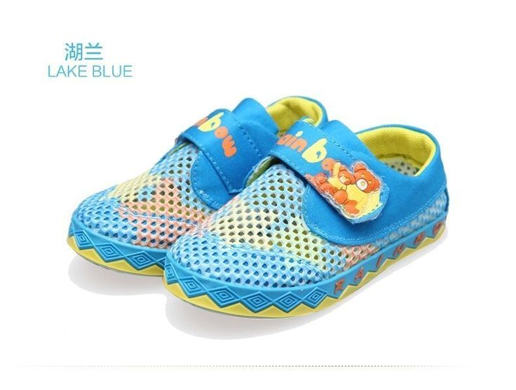 (Buy Two Get Third One Free) New Baby Mesh Sport Shoes With Rubber Soles #RainbowBear #WalkingShoes